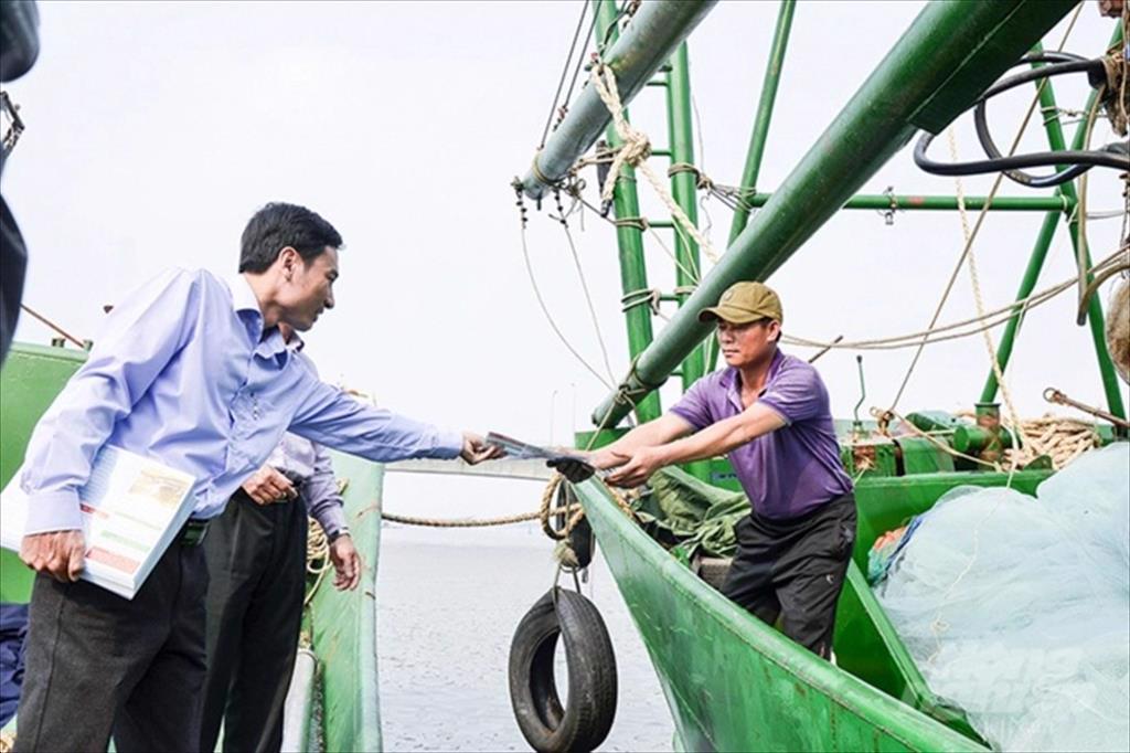 Quảng Trị Quảng Trị sẽ xử lý nghiêm tàu cá vi phạm khi khai thác trên biển