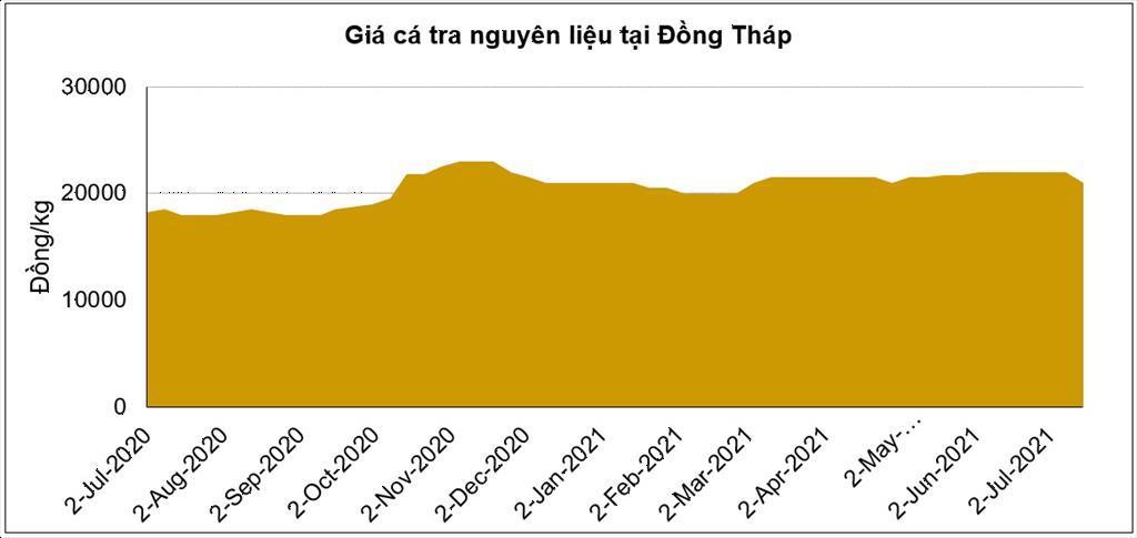 Giá cá tra nguyên liệu có thể nhiều biến động trong thời gian tới
